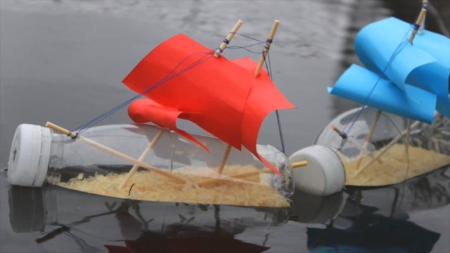 How To Make Bottle Boats