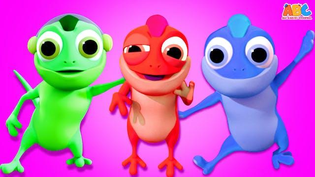 Chameleon Finger Family