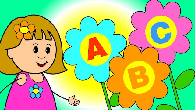 ABC Song - With Flowers