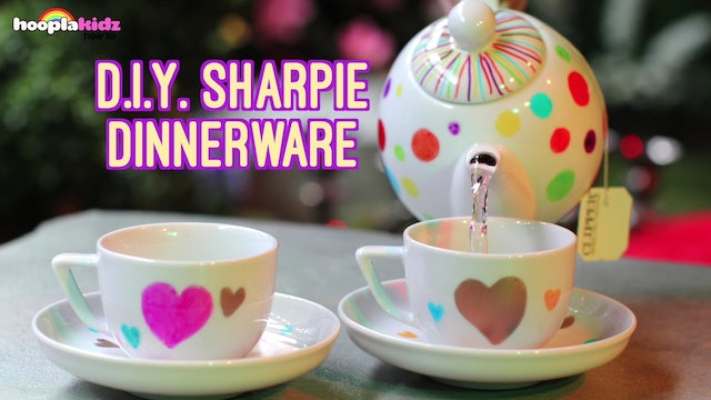 Sharpie Dinnerware