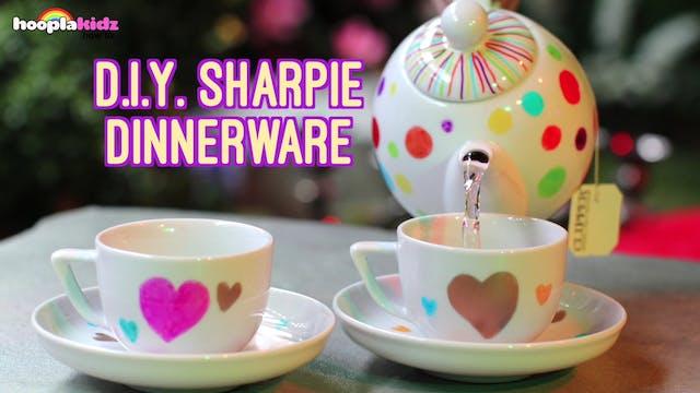 Sharpie Dinnerware