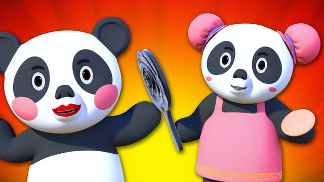 Panda Finger Family