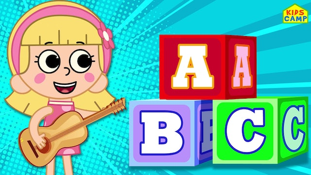 KidsCamp - Let's Learn ABC & 123 With Elly And Eva