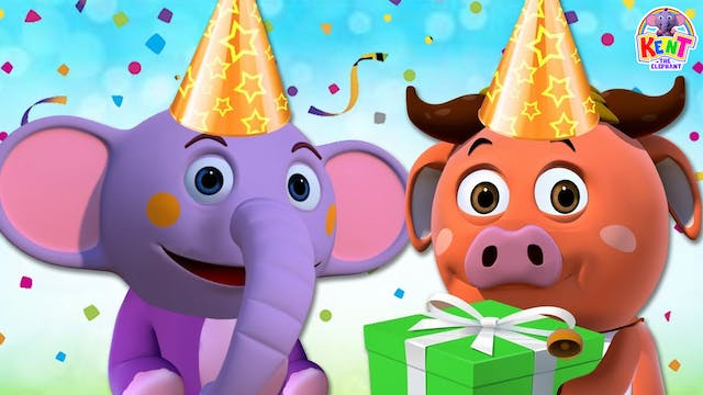 Kent the Elephant - Learn Colors With...