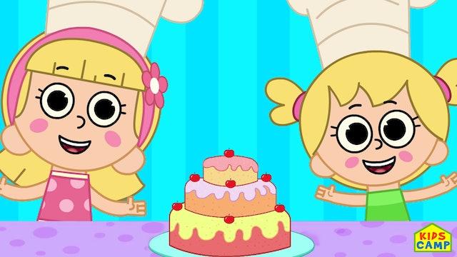 KidsCamp - Bake a Cake Song