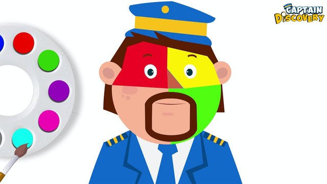 Captain Discovery - Face Painting Fin...