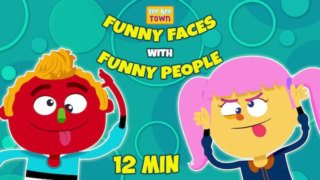 Funny Faces with Funny People