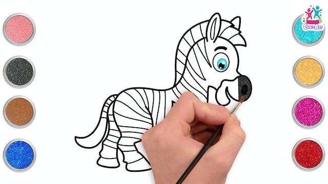 Chiki Art - Zebra