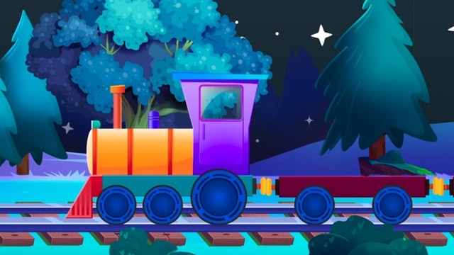 Learn numbers with train