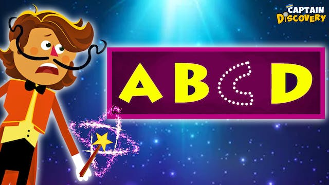 Captain Discovery - Learn Alphabets W...