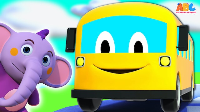 All Babies Channel - Wheels On The Bus (in 3D)