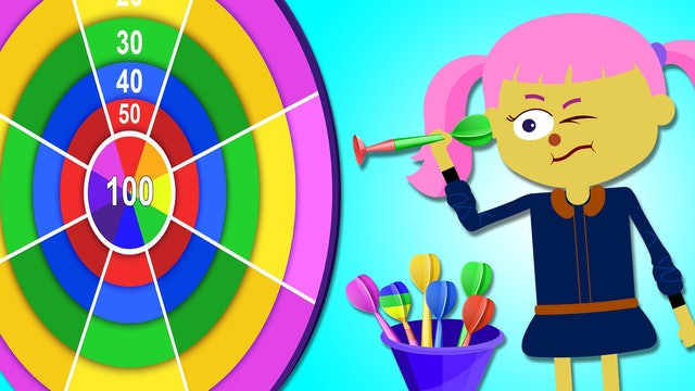 Learn Colors Song With Darts