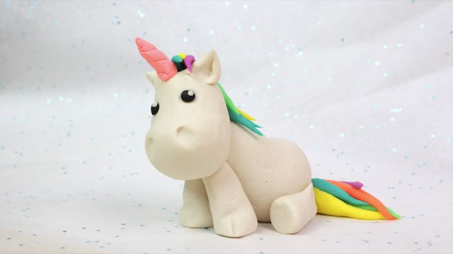 Playdoh Unicorn