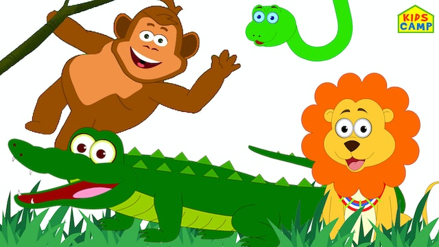 Jungle Animals Song