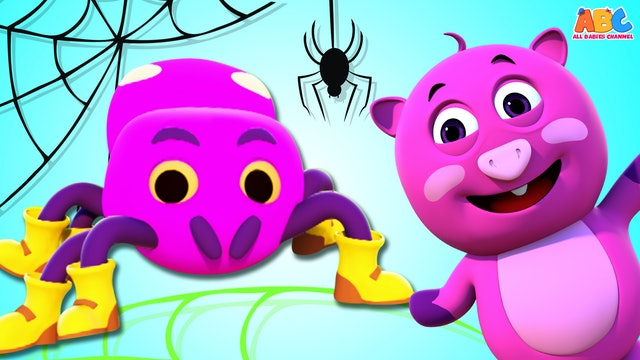 All Babies Channel - The Itsy Bitsy Spider (3D)