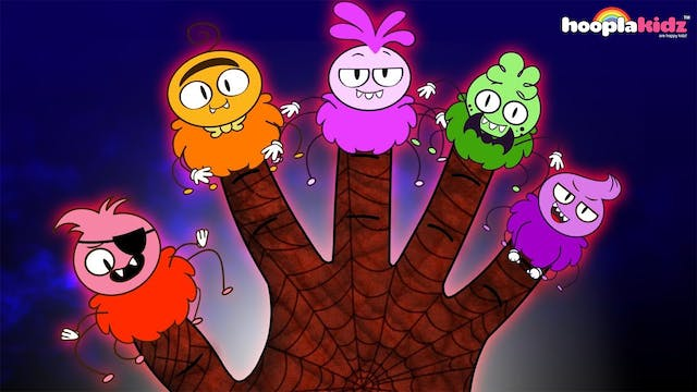 HooplaKidz - The Spider Finger Family