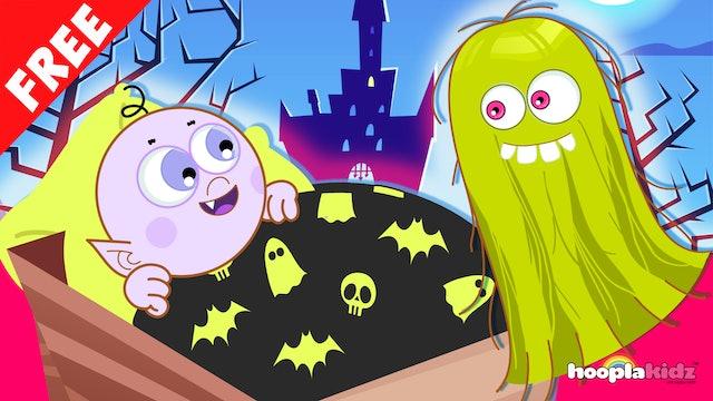 HooplaKidz - Rocka Bye Baby Halloween Song