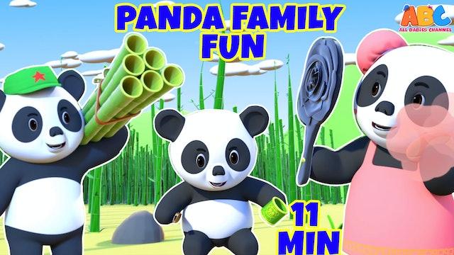 Movie Of The Day - Panda Family Fun