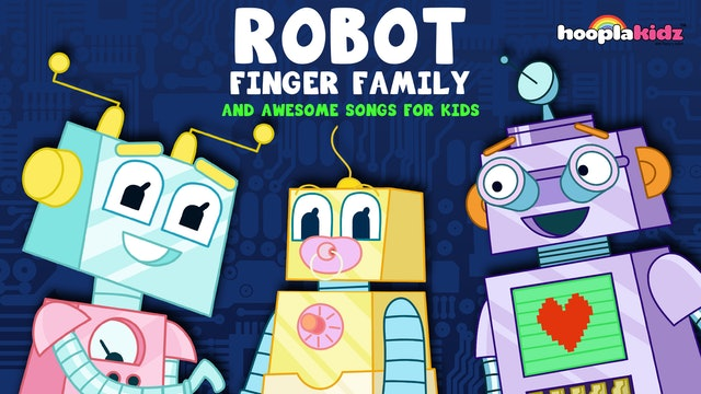 Robot Finger Family