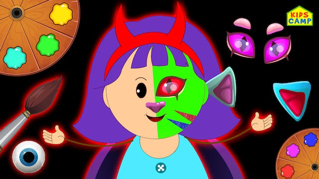 KidsCamp - Learn Colors With Hallowee...