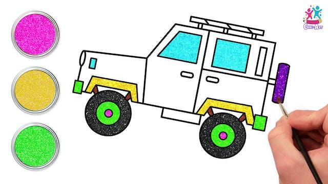 Chiki Art -Jeep