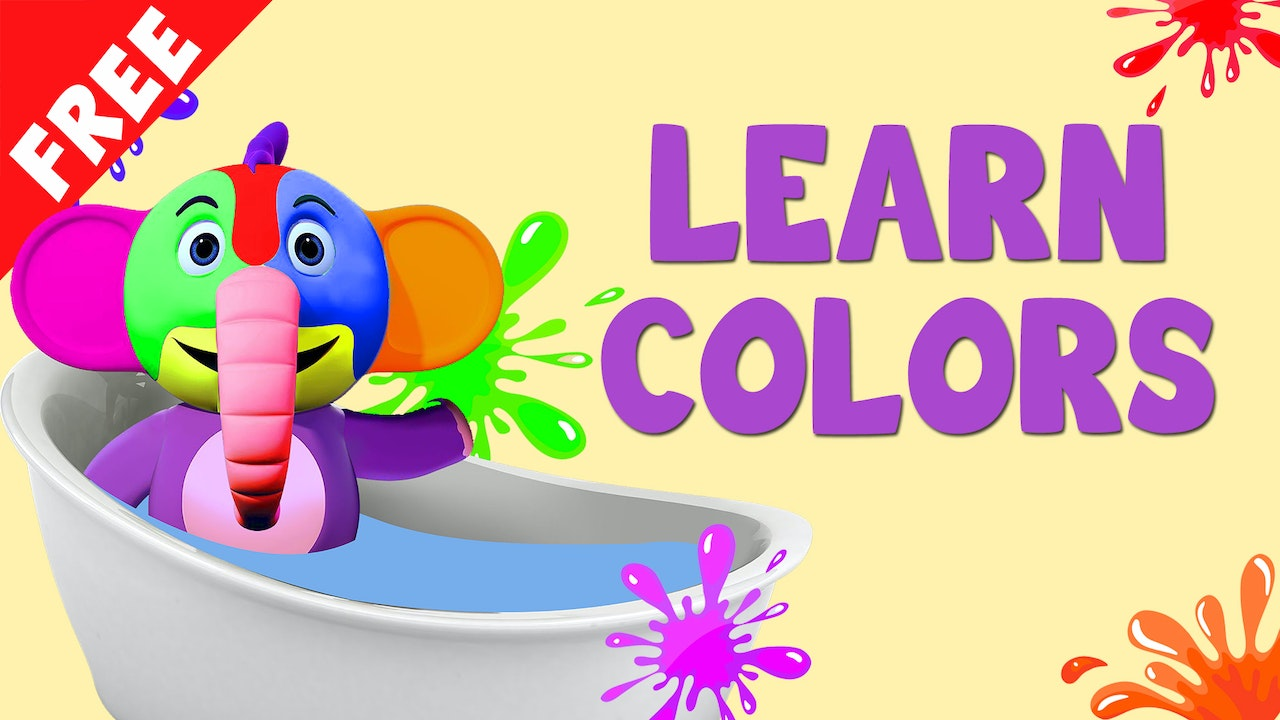 LEARN COLORS (10 Videos)