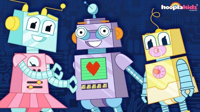 Robot Finger Family
