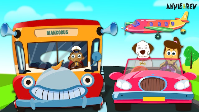 Annie and Ben - Learn Vehicles With Annie