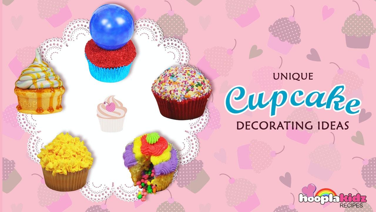 Unique Cupcake Decorating Ideas