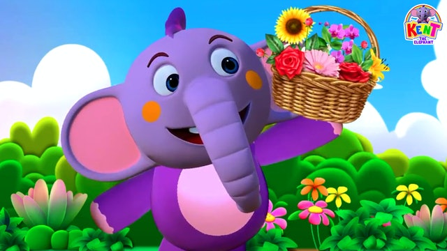 Kent the Elephant - Learn Different Kinds Of Flowers