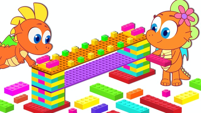 Build Bridge with Block Toys