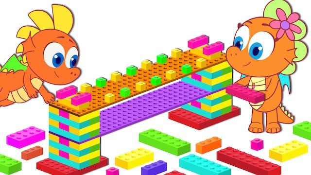 Build Bridge with Block Toys