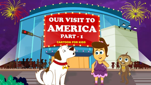 Our Visit To America Part - 1
