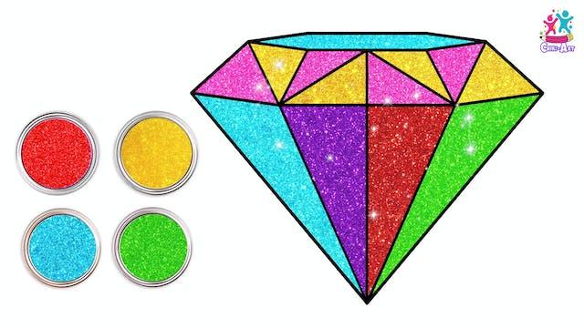 Chiki Art - Glitter Diamond