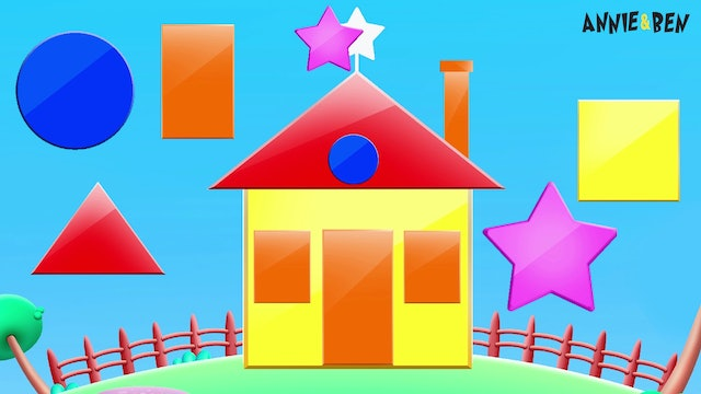 Annie And Ben - Learn Shapes While Building A House