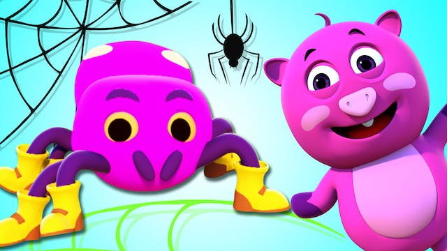 The Itsy Bitsy Spider (3D)