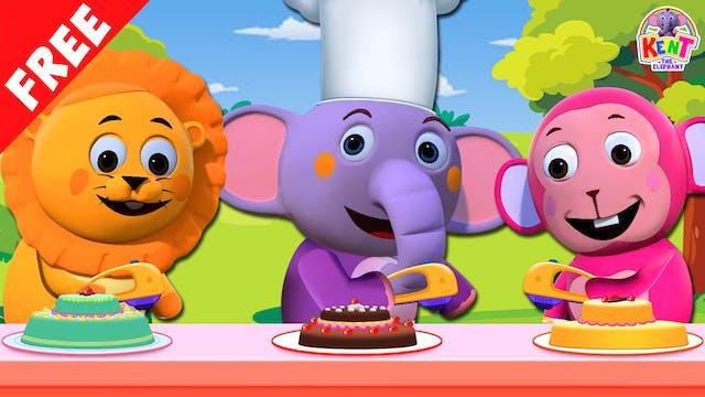 Kent The Elephant - 1, 2 Bake A Cake
