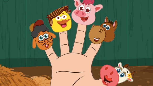 Learn Animals With Finger Family Song