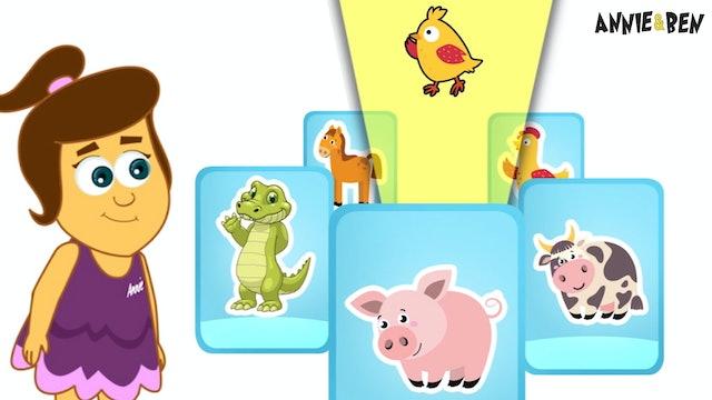 Annie And Ben - Annie & Ben Baby Animals With Cards
