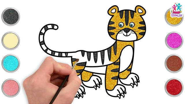 Chiki Art - Tiger
