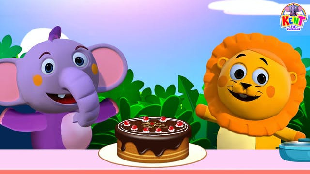 Kent The Elephant - Sharing A Cake