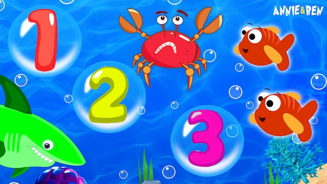 Annie And Ben - Learn Numbers With Underwater Animals