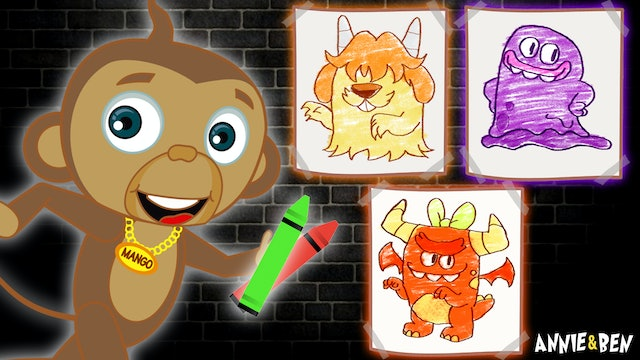 Annie & Ben - Learn Colors With Monster Painting