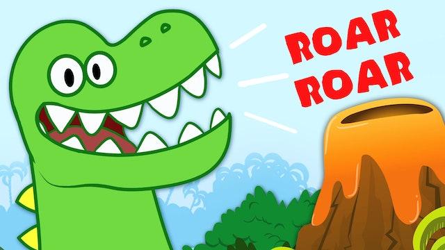 HooplaKidz - Dinosaur Song