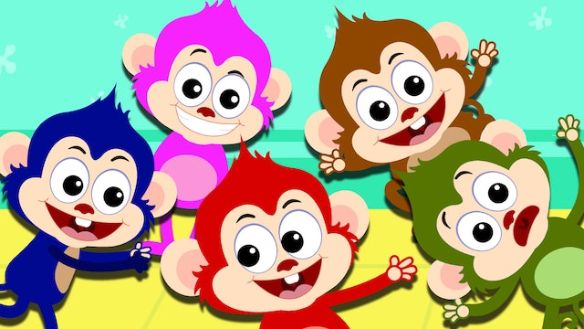 Five Little Monkeys With Len And Mini