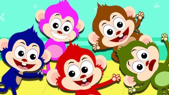 Five Little Monkeys With Len And Mini