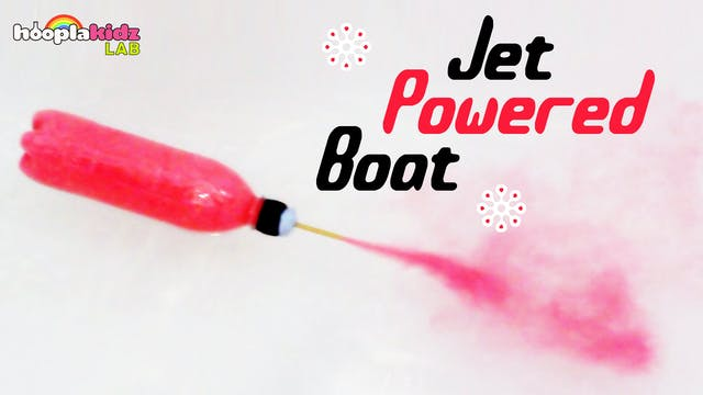 Jet Powered Boat Science Experiment