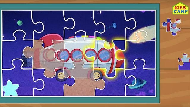 KidsCamp - Transport Puzzle