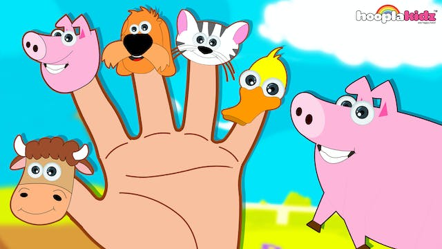 Farm Animals Finger Family