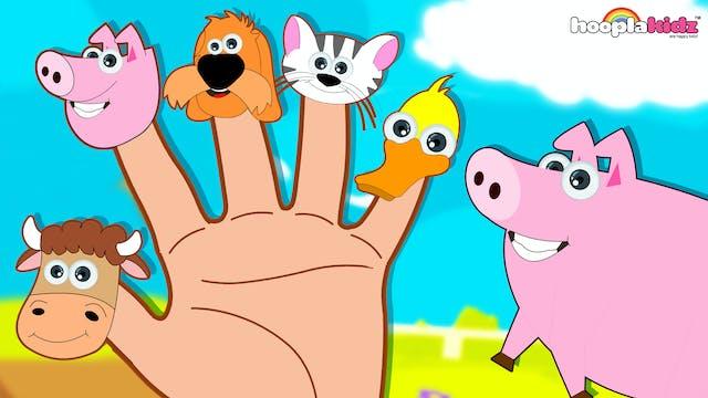 Farm Animals Finger Family